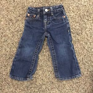 "True Religion ""Baby Billy"" infant jeans"